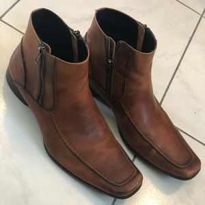 Mens Kenneth Cole Reaction Dress Boots Size 8.5